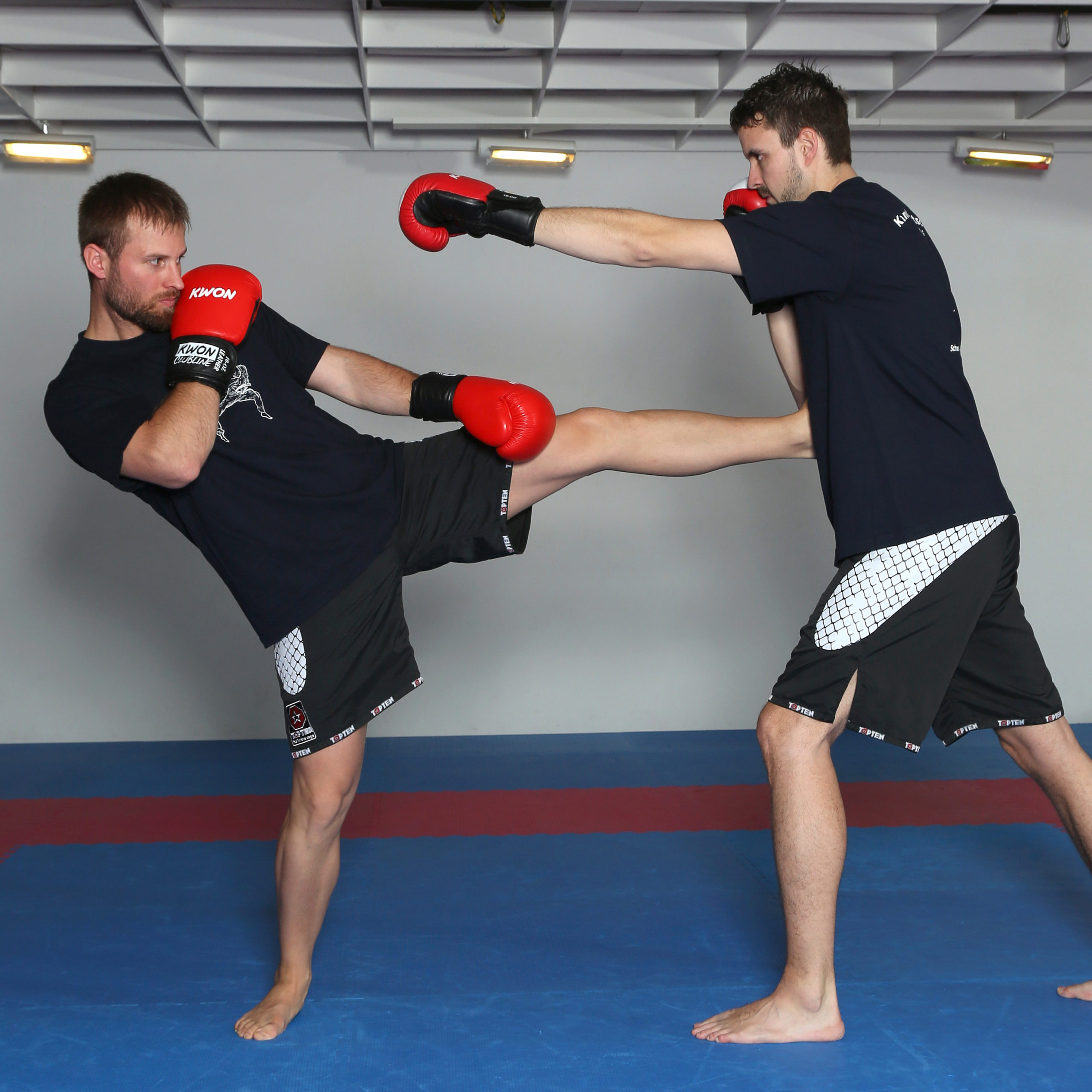 Kickboxen quadrat